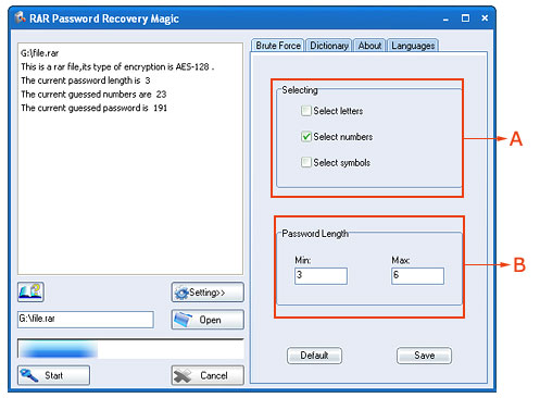 rar password recovery magic v6.1.1.95